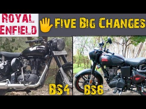 Royal Enfield Bs4 Vs Bs6 Royal Enfield Major Changes Bs4 And Bs6