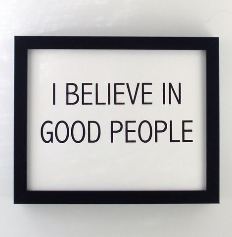 Something I do believe in.