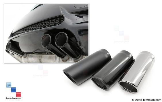 -  - Stainless Exhaust Tips  - Photo #1