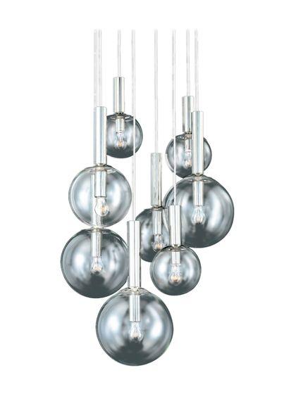 SONNEMAN Bubbles 8-Light Cluster Pendant