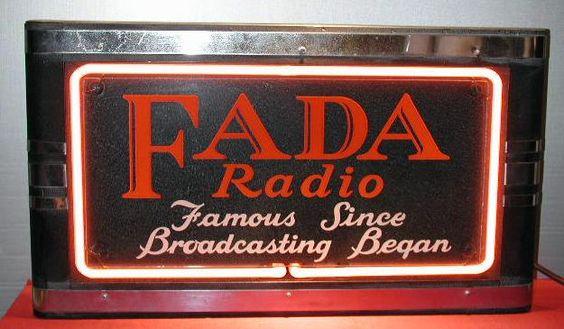 Fada Radio neon