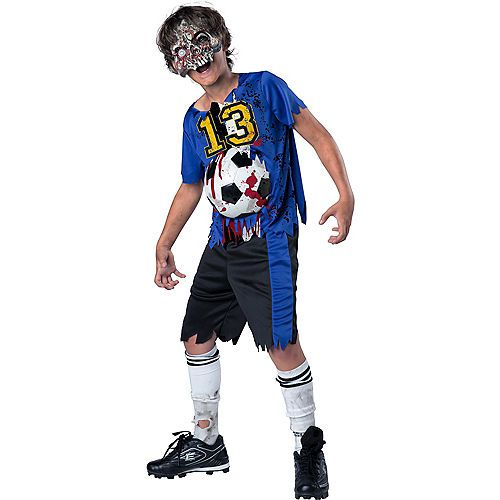 Boys Soccer Player Zombie Costume Zombie Costume Boy Halloween Costumes Boy Costumes