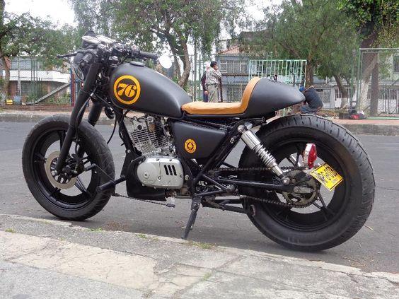 -Suzuki-Gn-125-Cafe-Racer