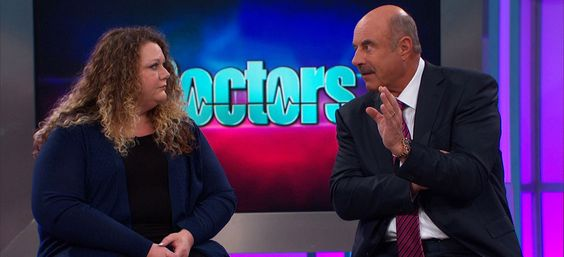 Dr. Phil inspiring another guest! on @thedoctors