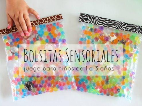 Bolsitas sensoriales ideales para ni os de 1 a 3 a os for Actividades para el jardin de infantes
