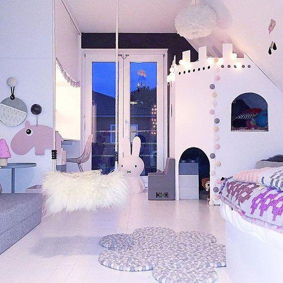 Fantastisk nydelig #barnerom med #eos #fjærlampe #credit ...