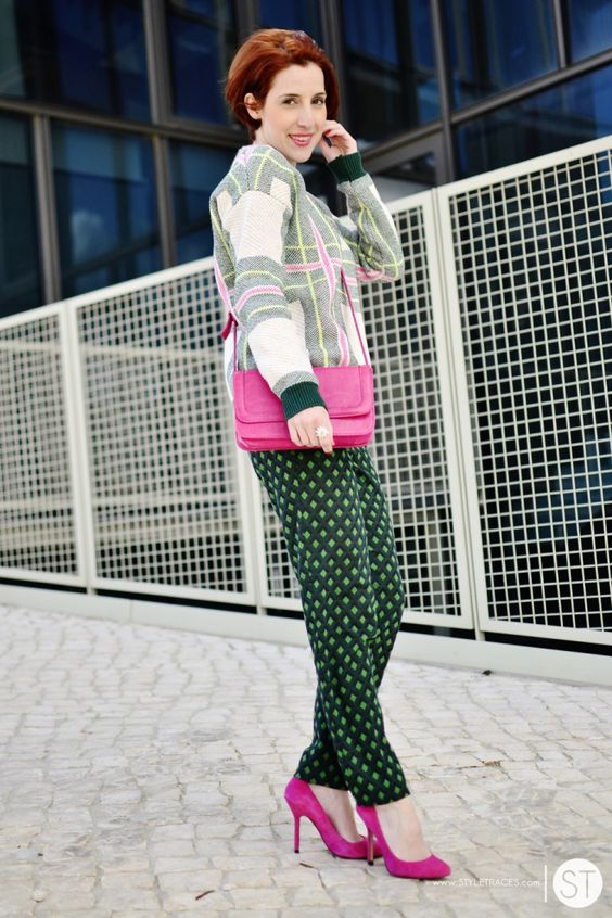 Pink Blazer Color Pop Street Style 10 - pictures, photos, images