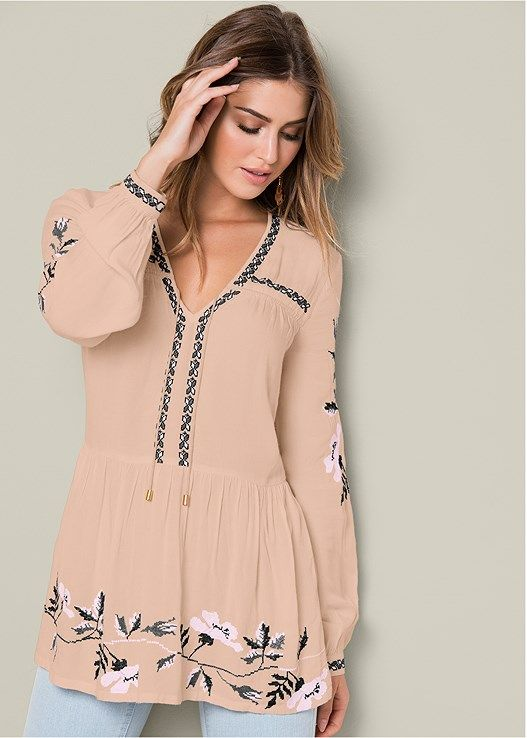 36 Tunics Blouses Trending Today outfit fashion casualoutfit fashiontrends