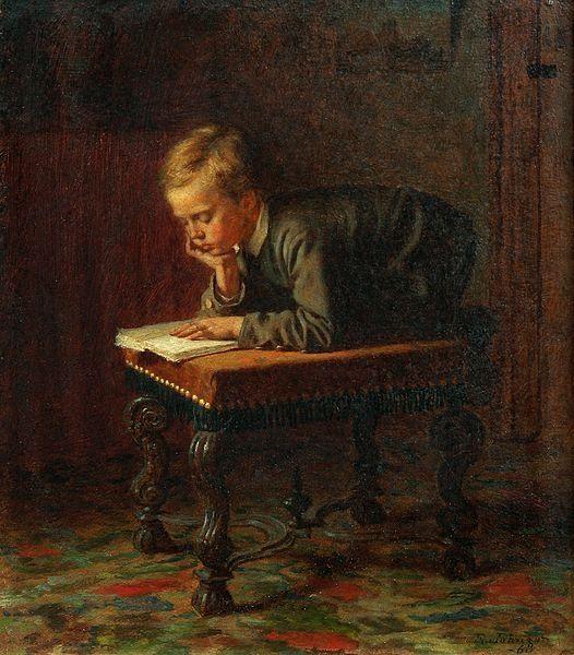 pintura de Eastman Johnson (1824–1906)