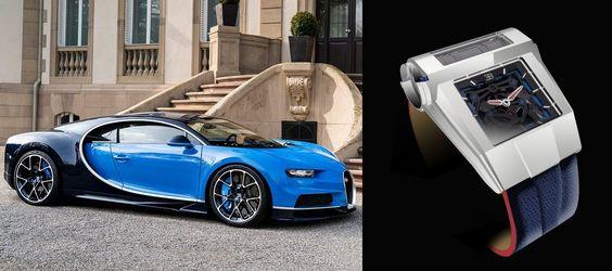 Parmigiani Fleurier Bugatti Type 390 & 2016 Bugatti Chiron