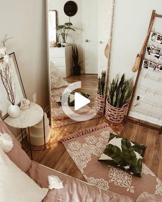 Decorazione Camera; Piccola camera da letto; Area di sosta ...