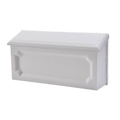 Traditional Wall Mounted Mailbox Wall Mount Mailbox Traditional Mailboxes Mounted Mailbox