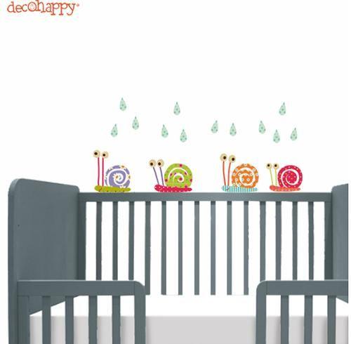 Mini vinilos de decohappy para la habitacion del beb - La habitacion del bebe ...