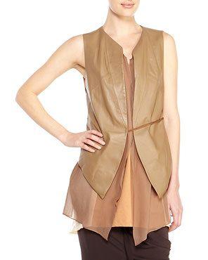 DEMOO PARKCHOONMOO Leather Vest