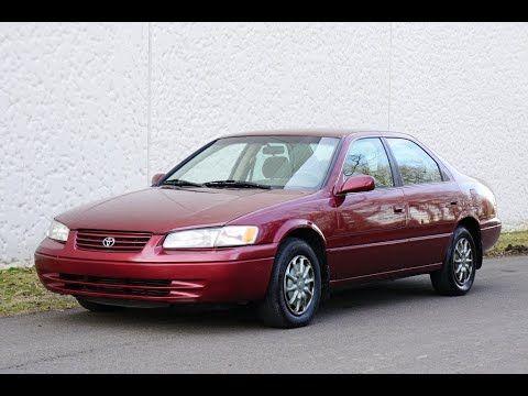 1999 Toyota Camry Le 2 2l 4 Cylinder Burgundy Slideshow In 2020 Toyota Camry Camry Toyota