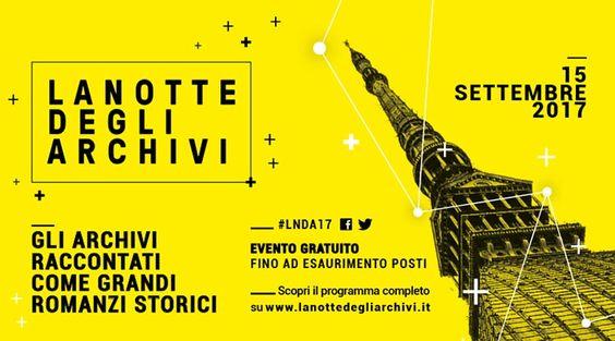 La Notte degli Archivi - Torino 2017