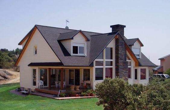 Montreal canexel casas de madera casas canadienses - Casas prefabricadas canexel ...