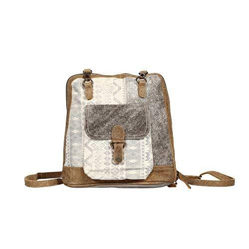 Myra Bag Stupefy Upcycled Canvas Leather Backpack S 1364 Myra Bag In 2020 Bags Leather Backpack Canvas Leather Look for mayko winter collection. myra bag stupefy upcycled canvas