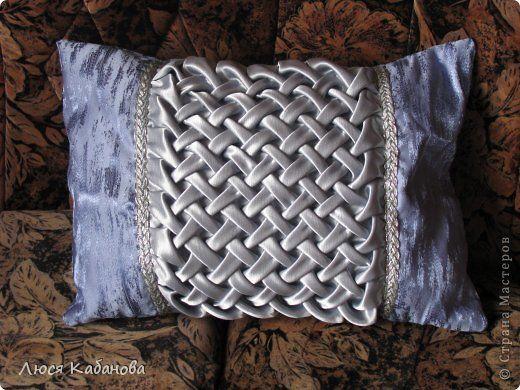 А вот какие подушки с буфами я научилась делать благодаря СТРАНЕ МАСТЕРОВ…