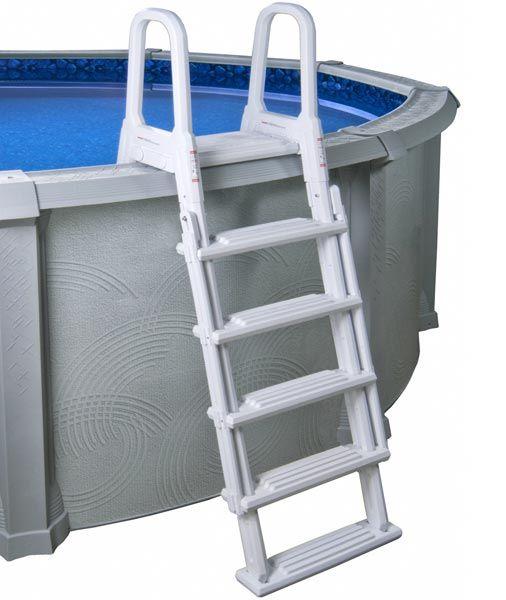 A-Frame Flip-Up Ladder for Above Ground Pools: Pool Ideas, Pool Ideals, Ground Pools, Above Ground Pool, A Frame, Pool Decks, Pool Dazes