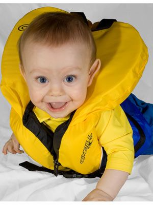 Image result for inflated child's life vest