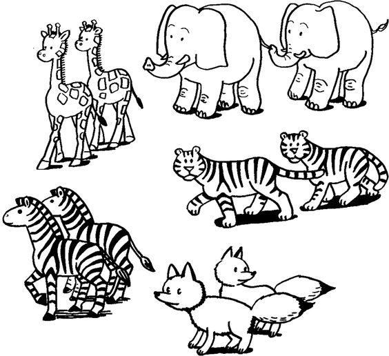Animal Printouts For Noahs Ark