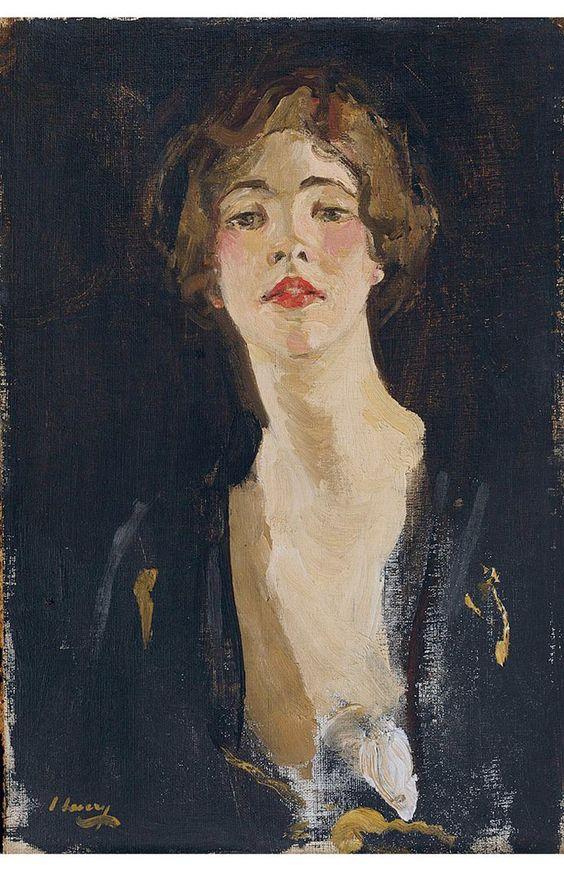 Portrait of writer Violet Trefusis, 1919, John Lavery