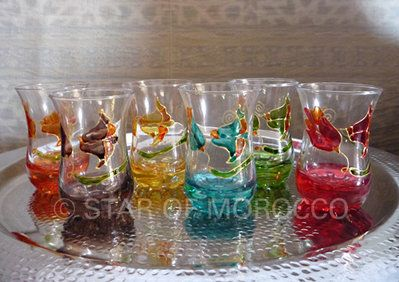 Casablanca Tea Glasses