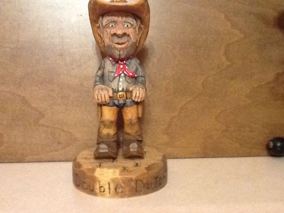 Double Dutch Cowboy by Tom Ellis by TomzWoodcarvingShop on Etsy