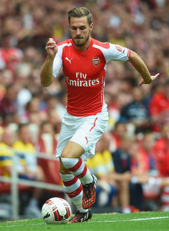 Aaron Ramsey (Arsenal FC) 1 of my current fav players, 2014