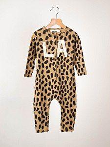 Bobo Leopard LA Jumpsuit #ladida #ladidakids #bobochoses ladida.com