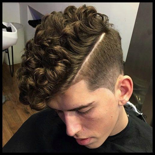 Peinados Para Cabello Ondulado Hombre