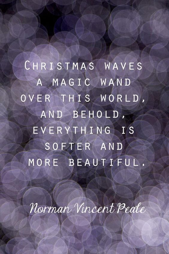 Christmas Quote. What Christmas means to me: