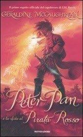 Peter Pan e la sfida al pirata rosso    Geraldine McCaughrean ~ La ragazza con gli occhiali viola