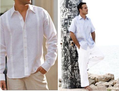 Trajes para bodas en la playa6 calidez pinterest bodas for Boda en jardin como vestir hombre