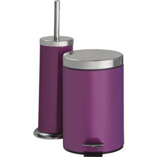 Bathroom bin and toilet brush set argos for the home for Bathroom accessories argos