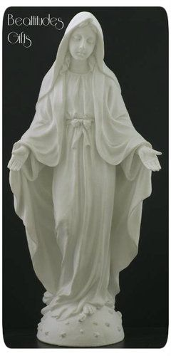 Madonna Our Lady of Grace Statue White Veronese Collection Catholic Gift New | eBay