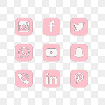 Social Media Pink Instagram Icon Youtube Whatsapp Facebook Pinterest Snapchat Pink Social Media Pink Instagram Icon Png Transparent Clipart Image And Psd Fi Pink Instagram Social Media Icons Free Instagram Icons