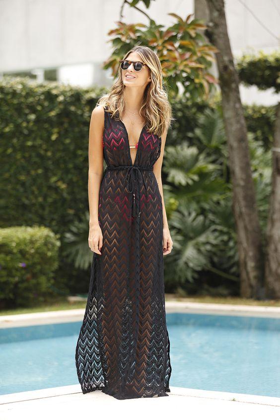 Moda Praia Saída de Banho 2019