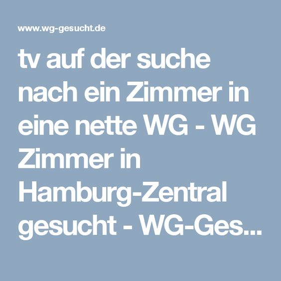 Wohngemeinschaften Hamburg  WG Zimmer-Gesuche in Hamburg - WG - küchenstudio hamburg wandsbek