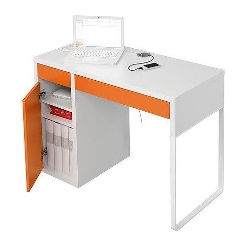 Workspace Complete With MICKE Desk U0026 JULES Swivel Chair From Ikea    Furniture   Pinterest   Micke Desk, Swivel Chair And Desks.