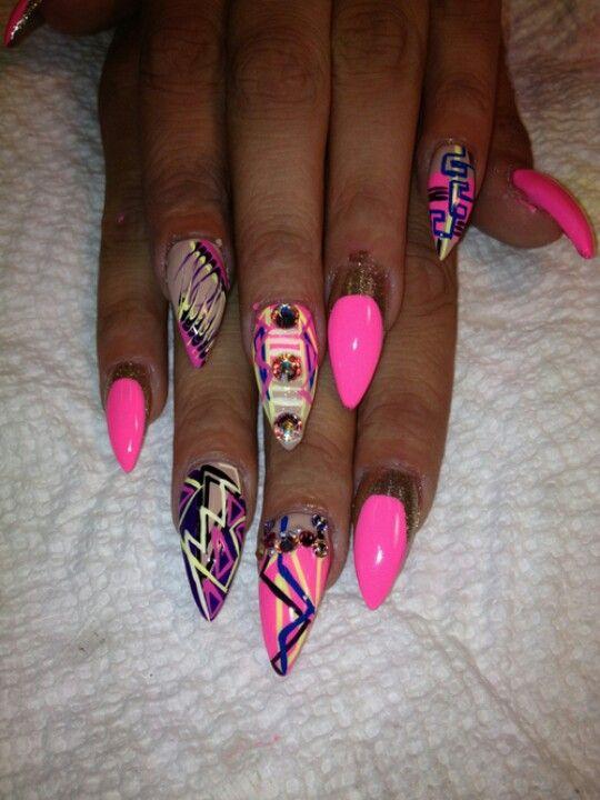 Ghetto fab nails | Fashion & My Style | Pinterest | Crazy nails, Crazy nail  art and Nail nail - Ghetto Fab Nails Fashion & My Style Pinterest Crazy Nails