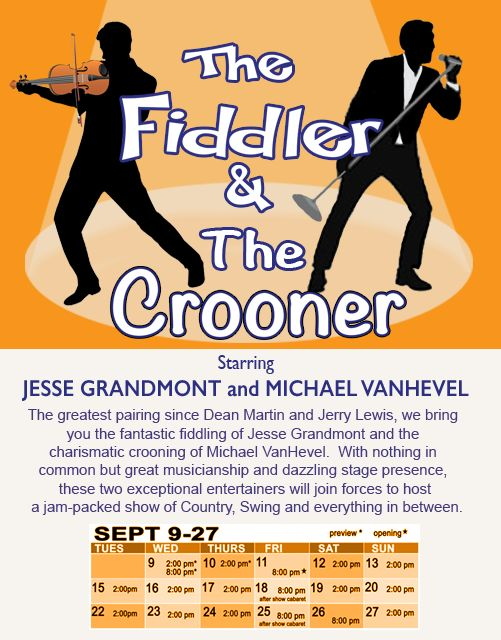 Looking forward to this performance tonight! more info and tickets at www.thevpp.ca