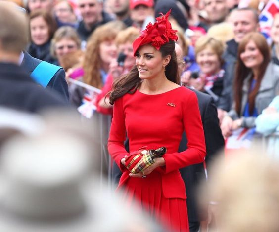 Katherine, Duchess of Cambridge - a definite standout in any crowd. She is so stunning and classy