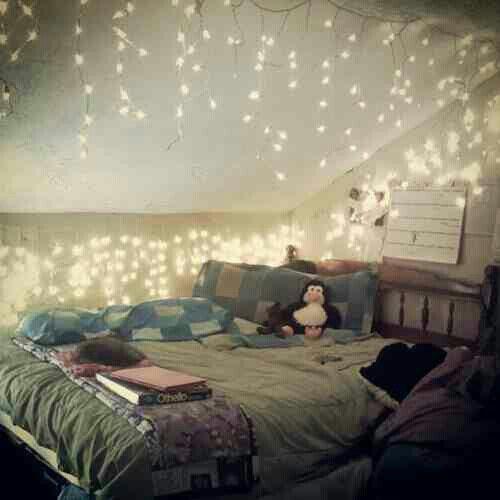 Home Interior Bedroom Pretty Bedroom Ceiling Lights Classic Black And White Bedroom Slanted Ceiling Bedroom Ideas: Love This Room! Cute Bonus Room Look For Teen Girls