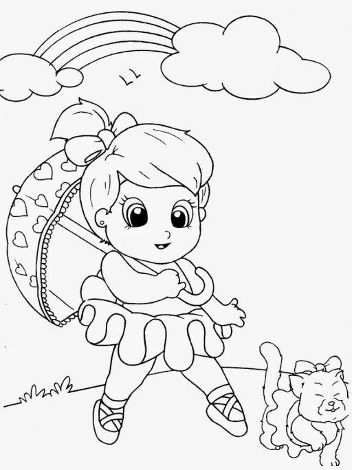 Desenhos Para Meninas Colorir E Imprimir Desenhos Desenho De