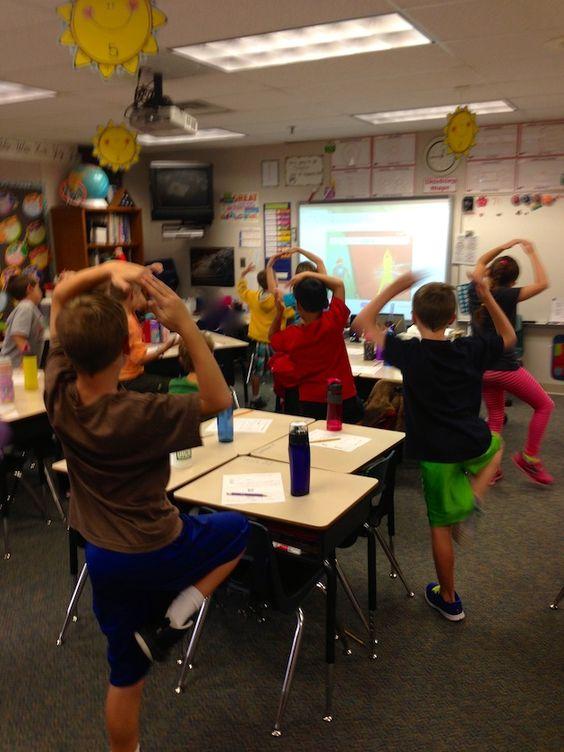 Classroom Break Ideas ~ Gonoodle online brain breaks for smartboard free at