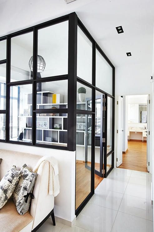 HDB flat, dbss, four-room flat, renovation, home and decor  A $60,000 contemporary French-styled four-room flat