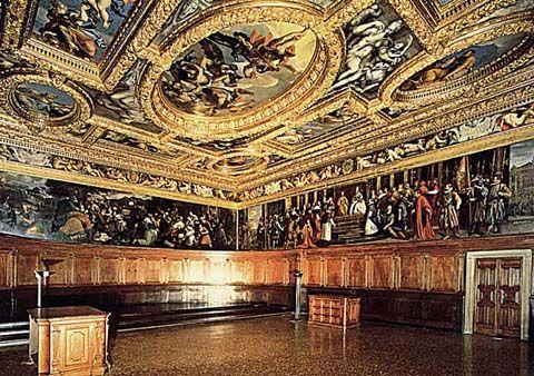 Venezia - Palazzo Ducale - Sala del Consiglio dei Dieci