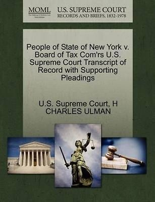 #People of state of new york v. board of tax com'rs u.s. #supreme #court transcri,  View more on the LINK: http://www.zeppy.io/product/gb/2/162282674744/